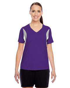 Sport Purple Ladies' Short-Sleeve V-Neck All Sport Jersey