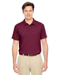 Sport Maroon Men's Charger Performance Polo