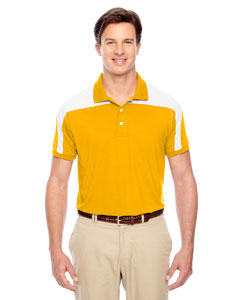 Sp Athletic Gold Men's Victor Performance Polo