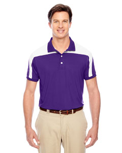 Sport Purple Men's Victor Performance Polo