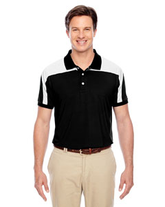 Black Men's Victor Performance Polo