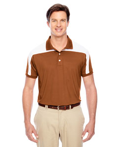 Sp Burnt Orange Men's Victor Performance Polo