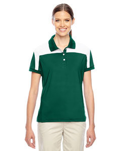 Sp Forest/wht Ladies' Victor Performance Polo