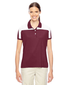 Sp Maroon/wht Ladies' Victor Performance Polo