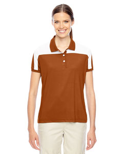 Sp Bnrt Org/wht Ladies' Victor Performance Polo