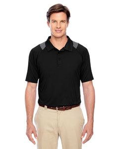 Black Men's Innovator Performance Polo