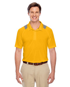 Sp Athletic Gold Men's Innovator Performance Polo