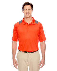 Sport Orange Men's Innovator Performance Polo