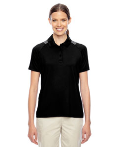 Black Ladies' Innovator Performance Polo