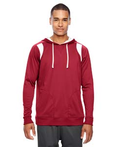 Sp Scarlet Red Men's Elite Performance Hoodie