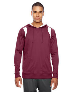 Sp Maroon/wht Men's Elite Performance Hoodie