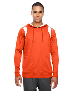 Sp Orange/wht Men's Elite Performance Hoodie