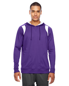 Sp Purple/wht Men's Elite Performance Hoodie