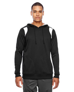 Black/white Men's Elite Performance Hoodie