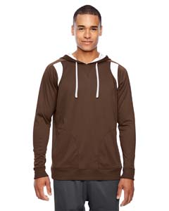 Sport Dark Brown Men's Elite Performance Hoodie