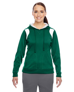 Sp Forest/wht Ladies' Elite Performance Hoodie