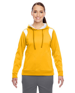 Sp Ath Gold/wht Ladies' Elite Performance Hoodie