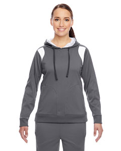 Sp Graphite/wht Ladies' Elite Performance Hoodie