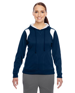 Sp Dk Navy/wht Ladies' Elite Performance Hoodie