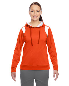 Sp Orange/wht Ladies' Elite Performance Hoodie