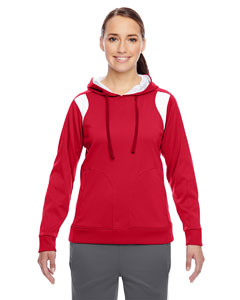 Sp Red/wht Ladies' Elite Performance Hoodie