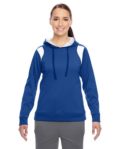 Sp Royal/wht Ladies' Elite Performance Hoodie
