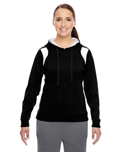 Black/white Ladies' Elite Performance Hoodie