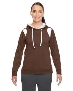 Sport Dark Brown Ladies' Elite Performance Hoodie