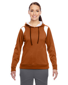 Sp Bnrt Org/wht Ladies' Elite Performance Hoodie