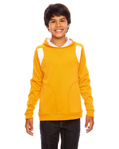 Sp Ath Gold/wht Youth Elite Performance Hoodie