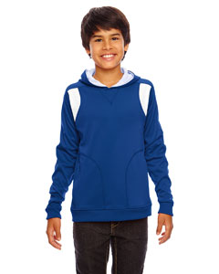Sp Royal/wht Youth Elite Performance Hoodie