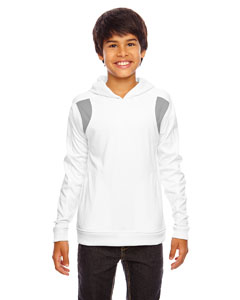 Wht/sp Graphite Youth Elite Performance Hoodie