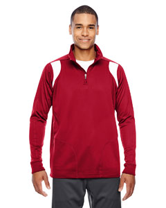 Sp Red/wht Men's Elite Performance Quarter-Zip