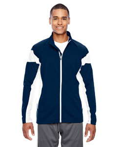 Sp Dk Navy/wht Men's Elite Performance Full-Zip