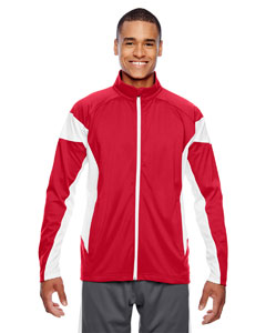 Sp Red/wht Men's Elite Performance Full-Zip