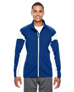Sp Royal/wht Men's Elite Performance Full-Zip