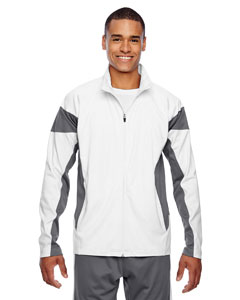 Wht/sp Graphite Men's Elite Performance Full-Zip