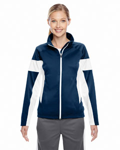 Sp Dk Navy/wht Ladies' Elite Performance Full-Zip