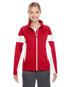 Sp Red/wht Ladies' Elite Performance Full-Zip