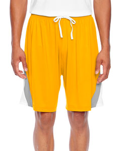 Sp Athletic Gold Men's All Sport Short
