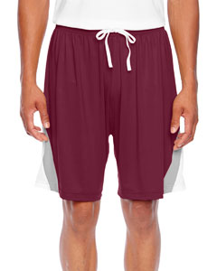 Sport Maroon Men's All Sport Short