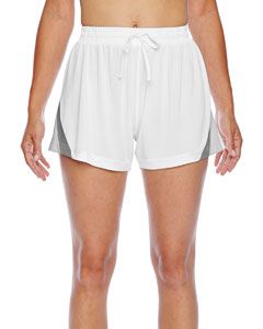 White Ladies' All Sport Short
