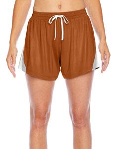 Sp Burnt Orange Ladies' All Sport Short