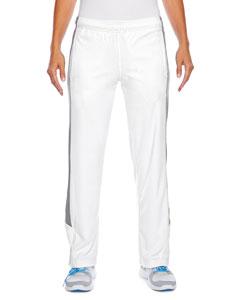 Wht/ Sp Graphite Ladies' Elite Performance Fleece Pant