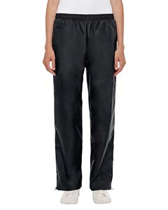 Black Ladies' Conquest Athletic Woven Pants