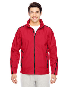 Sport Red Conquest Jacket with Mesh Lining