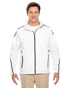 White Conquest Jacket with Fleece Lining