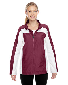 Sport Maroon Ladies' Squad Jacket