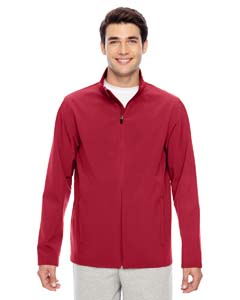 Sp Scarlet Red Men's Leader Soft Shell Jacket