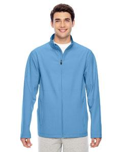 Sport Light Blue Men's Leader Soft Shell Jacket